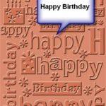 Happy Birthday! I Said To Myself
