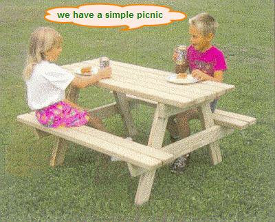 We Are Having A Picnic