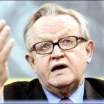 Former Finnish President Martti Ahtisaari Awarded 2008 Nobel Peace Prize