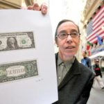 Zero Dollar Bill – Artist Laura Gilbert 'values' American Dollar