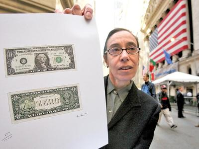 one dollar bill art. Zero Dollar Bill – Artist