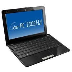 ASUS Eee PC 1005HA-PU1X-BK 10.1-Inch Black Netbook