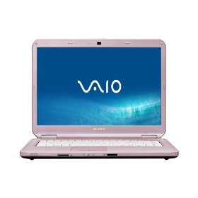 Sony VAIO VGN-NS330J/P 15.4-Inch Laptop - Pink