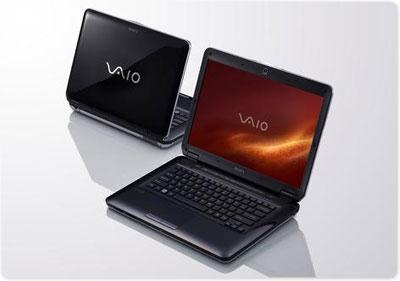 Sony VAIO VGN-CS320J/Q 14.1-Inch Laptop - Black