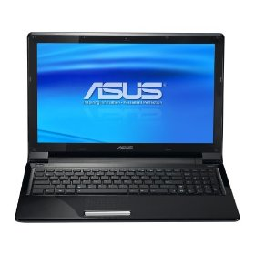 ASUS UL50Ag-A1 Thin and Light 15.6-Inch Black Laptop - Over 11 Hours of Battery Life