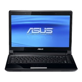 ASUS UL80Ag-A1 Thin and Light 14-Inch Black Laptop (Windows 7 Home Premium) - 12 Hours of Battery Life