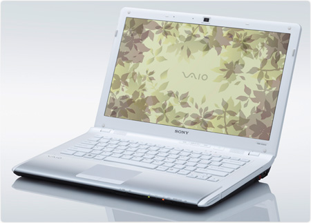 Sony VAIO VPC-CW13FX/W 14-Inch White Laptop (Windows 7 Home Premium)
