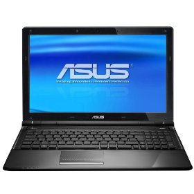 ASUS U50Vg-AM1 Thin and Light 15.6-Inch Black Laptop (Windows 7 Home Premium)