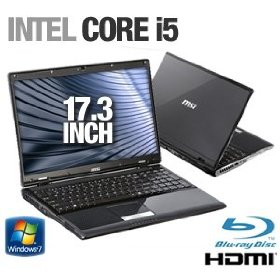 MSI A7200-018US 9S7-17364A-018 17.3-Inch Laptop