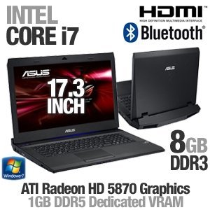 ASUS G73JH-X3 17.3-Inch Laptop