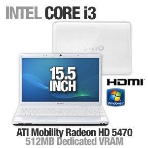 Sony VAIO VPCEB16FX/W 15.5-Inch Laptop