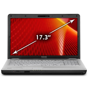 Toshiba Satellite L550-ST2743 17.3 Customizable Laptop Computer