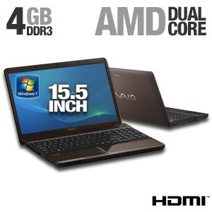 Sony VAIO VPCEE23FX/T 15.5-Inch Laptop