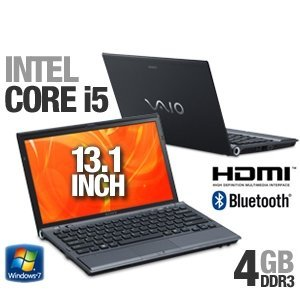 Sony VAIO VPCZ122GX/B 13.1-Inch Laptop