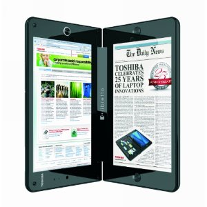Toshiba libretto W105-L251 7-Inch Dual Touchscreen Laptop