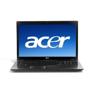 Acer AS7551-3634 17.3-Inch Laptop