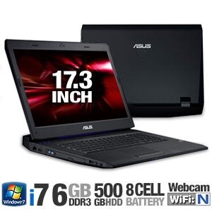 Asus G73JH-RBBX05 17.3-Inch Gaming Laptop