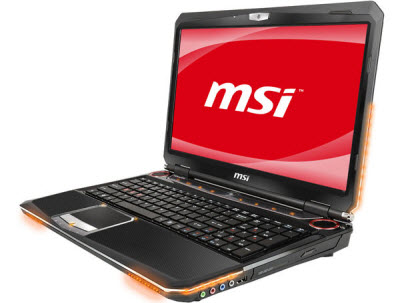 MSI GT663 15.6-Inch Gaming Laptop