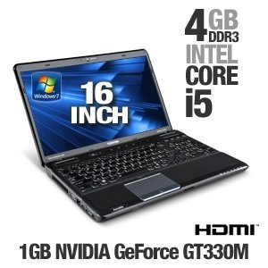 Toshiba Satellite A665-S6057 16-Inch Laptop