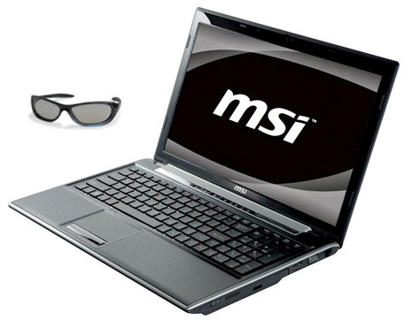 MSI FR600 3D 15.6-Inch Laptop