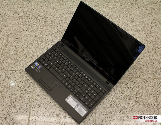 Acer Aspire 5742G laptop features NVIDIA GeForce GT 540M graphics