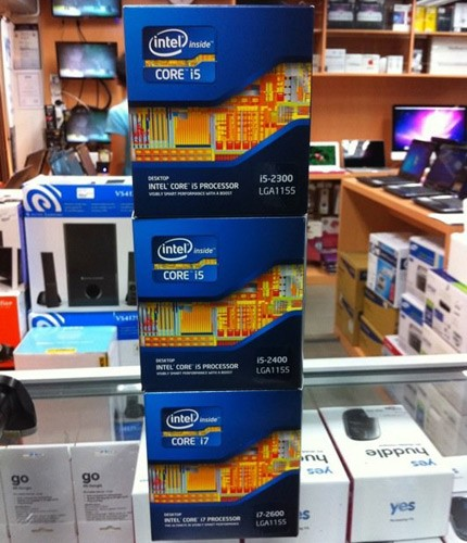 Intel Sandy Bridge CPUs