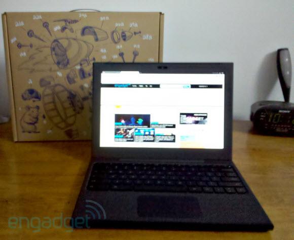 Google Cr-48 Chrome Notebook