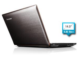Lenovo IdeaPad Y470 08552EU 14-Inch Laptop