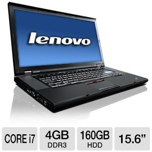 Lenovo ThinkPad W510 4391-X04 15.6-Inch LED Laptop