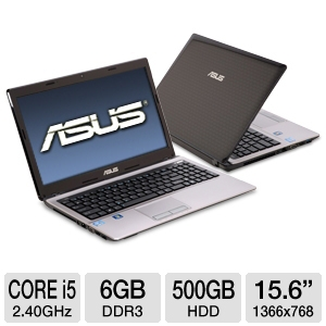 ASUS A53E-TH52 15.6-Inch Laptop
