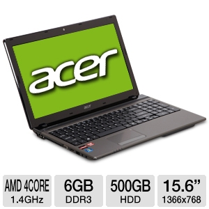 Acer Aspire AS5560-Sb653 15.6-Inch Notebook PC