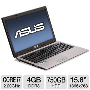 ASUS A53SD-TS71 15.6-Inch i7-2670QM Laptop Computer