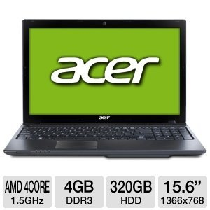 Acer Aspire AS5560G-7809 15.6-Inch Notebook
