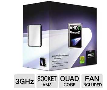 AMD HDX945WFGIBOX Phenom II X4 945 Quad Core Processor
