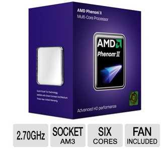AMD HDT45TWFGRBOX Phenom II X6 1045T