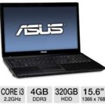 ASUS A54C-TB31 Laptop Computer w/ 2nd generation Intel Core i3-2330M 2.2GHz, 4GB DDR3, 320GB HDD for $349.99 @ TigerDirect