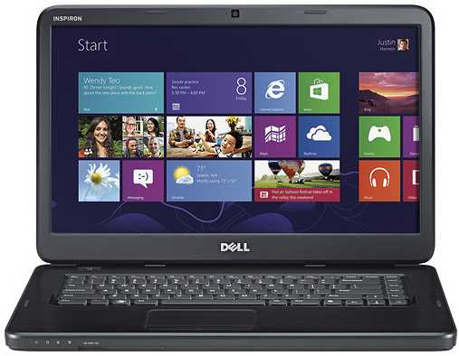 "Dell Inspiron I15-2728BK 15.6"" Laptop w/ Core i5-3210M, 4GB DDR3, Windows 8"