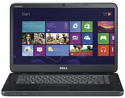 Dell Inspiron I15-909BK 15.6-Inch Laptop w/ Intel Celeron processor B820, 2GB DDR3, 320GB HDD, Windows 8