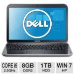 $529.99 Dell Inspiron i15R-2106sLV 15.6″ Notebook PC: Intel Core i5-3210M 2.5GHz, 8GB DDR3, 1TB HDD @ TigerDirect