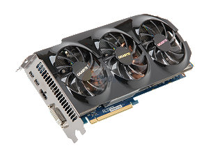 GIGABYTE GV-R795WF3-3GD Radeon HD 7950 3GB 384-bit GDDR5 PCI Express 3.0 x16 HDCP Ready CrossFireX Support Video Card