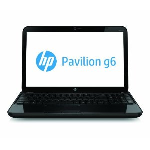 HP Pavilion g6-2218nr 15.6-Inch Laptop w/ Dual-Core A6-4400M 2.7 GHz, 4 GB DDR3, 320 GB HDD, Windows 8