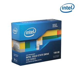 "Intel 330 Series Maple Crest SSDSC2CT180A3K5 2.5"" 180GB SATA III MLC Internal Solid State Drive (SSD)"