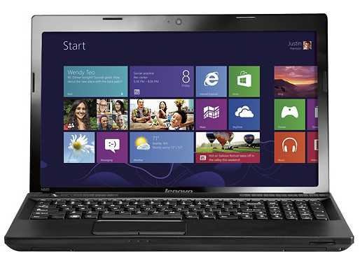 "Lenovo IdeaPad N585 59343747 15.6"" Laptop w/ AMD Dual-Core E1-1200, 2GB DDR3, 320GB HDD, Windows 8"