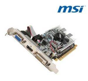 MSI R6450-MD1GD3/LP Radeon HD 6450 1GB 64-bit DDR3 PCI Express 2.1 x16 HDCP Ready Low Profile Ready Video Card