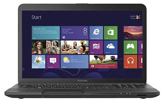 "Toshiba Satellite C875-S7303 17.3"" Laptop"