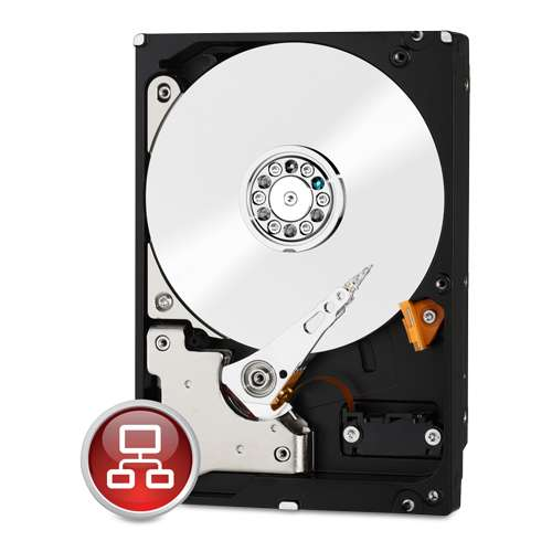 "WD Red WD30EFRX 3TB 3.5"" SATA, 5400RPM, 64MB Cache NAS Hard Drive"