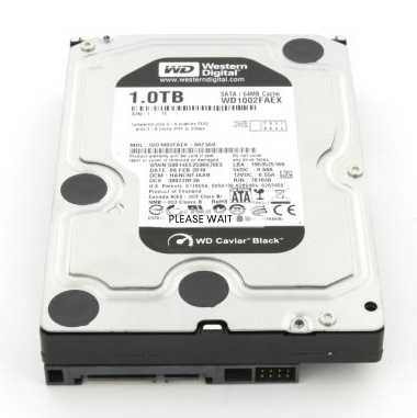 "Western Digital WD1002FAEX 1TB 7200 RPM 64MB Cache SATA 6.0Gb/s 3.5"" Internal Hard Drive"