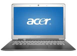 "Acer Aspire S3-391-6046 13.3"" Ultrabook Laptop PC w/ Core i3-2367M, 4GB DDR3, 320GB HDD, Windows 8"