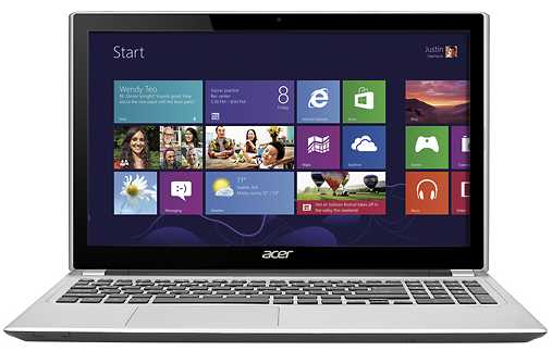 "Acer Aspire V5-571P-6400 15.6"" Laptop w/ Core i3-2377M, 4GB DDR3, 500GB HDD, Windows 8"