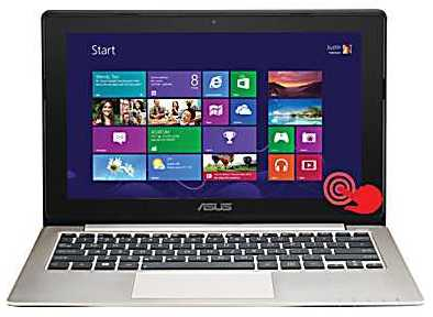 Asus S200E-RHI3T73 11.6&quot; Multitouch Touch Screen Laptop w/ i3-3217U 1.8GHz, 4GB DDR3, 500GB HDD, Windows 8